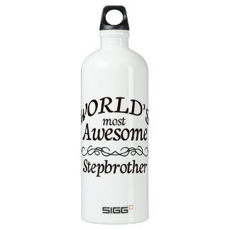 World's Most Awesome Stepbrother SIGG Traveller 1.0L Water Bottle