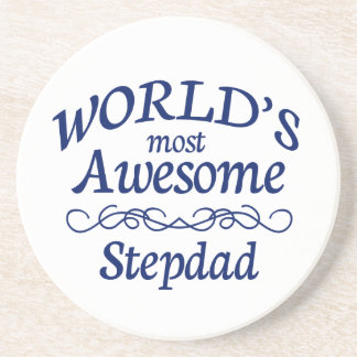 World's Most Awesome Stepdad Coasters