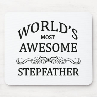 World's Most Awesome Stepfather Mouse Mat