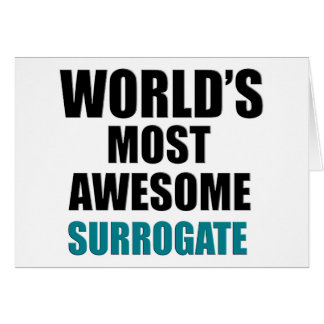 World's most awesome Surrogate Card
