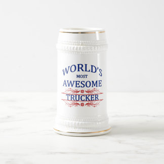 World's Most Awesome Trucker Mugs