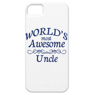 World's Most Awesome Uncle iPhone 5 Case