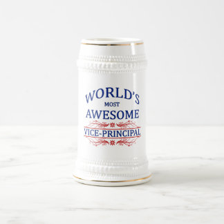World's Most Awesome Vice-Principal Beer Stein