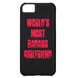 World's Most Badass Girlfriend iPhone 5C Case