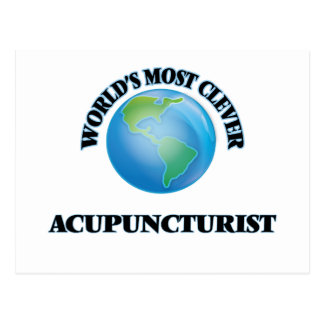 World's Most Clever Acupuncturist Post Cards