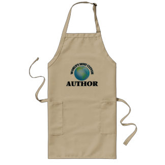 World's Most Clever Author Aprons