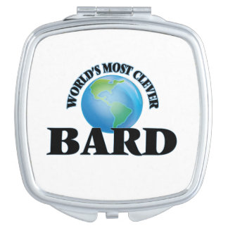 World's Most Clever Bard Compact Mirror