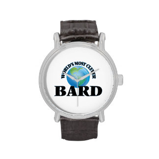 World's Most Clever Bard Wristwatch