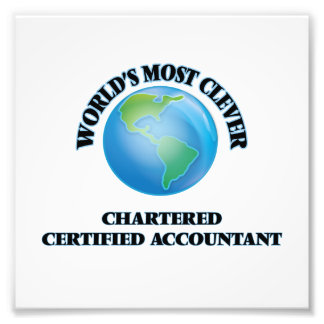 World's Most Clever Chartered Certified Accountant Photograph