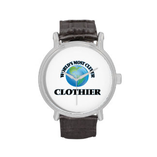 World's Most Clever Clothier Wristwatch