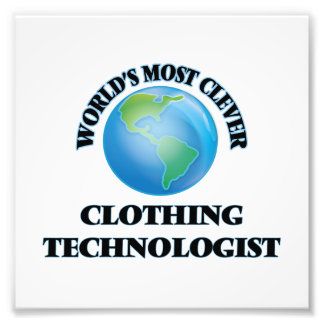 World's Most Clever Clothing Technologist Art Photo
