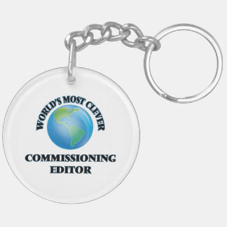 World's Most Clever Commissioning Editor Keychains