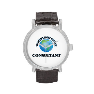 World's Most Clever Consultant Wrist Watch