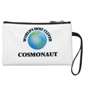 World's Most Clever Cosmonaut Wristlet Purse
