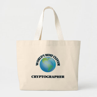 World's Most Clever Cryptographer Tote Bags