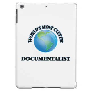 World's Most Clever Documentalist iPad Air Covers