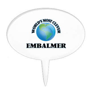 World's Most Clever Embalmer Cake Pick