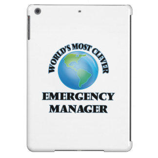 World's Most Clever Emergency Manager Cover For iPad Air