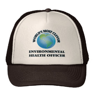 World's Most Clever Environmental Health Officer Trucker Hat