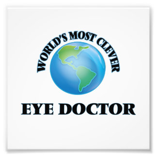 World's Most Clever Eye Doctor Art Photo