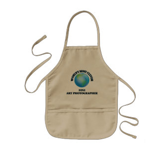 World's Most Clever Fine Art Photographer Kids Apron