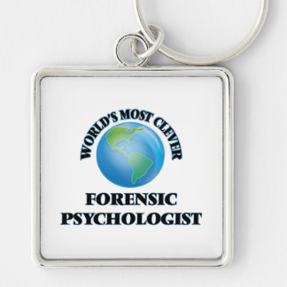 World's Most Clever Forensic Psychologist Keychains