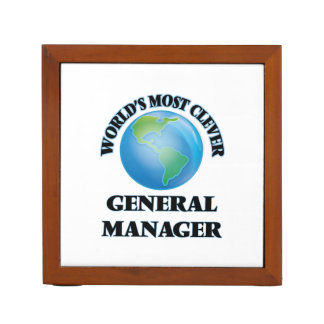 World's Most Clever General Manager Desk Organizers