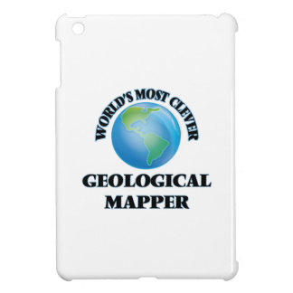 World's Most Clever Geological Mapper iPad Mini Cover