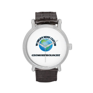 World's Most Clever Geomorphologist Wrist Watches
