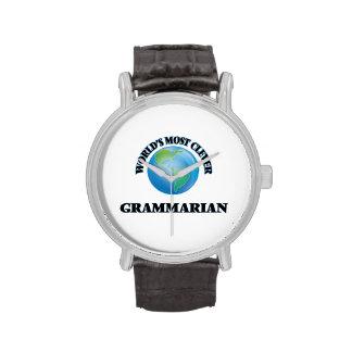 World's Most Clever Grammarian Wrist Watches