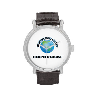 World's Most Clever Herpetologist Wristwatches