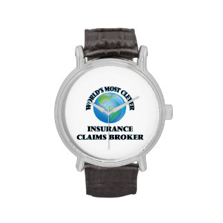 World's Most Clever Insurance Claims Broker Wrist Watches