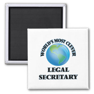 World's Most Clever Legal Secretary Magnet
