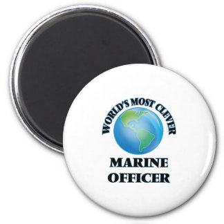 World's Most Clever Marine Officer Refrigerator Magnets