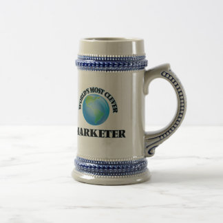 World's Most Clever Marketer Coffee Mugs