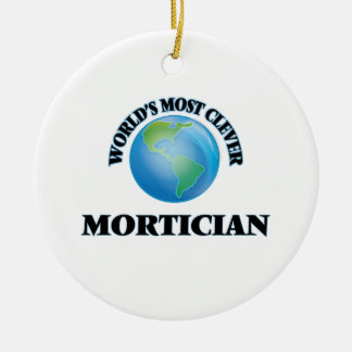 World's Most Clever Mortician Christmas Tree Ornament