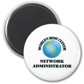 World's Most Clever Network Administrator Magnet