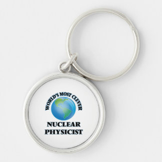 World's Most Clever Nuclear Physicist Keychains