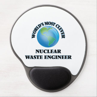 World's Most Clever Nuclear Waste Engineer Gel Mouse Mat