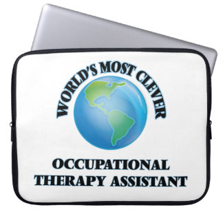 World's Most Clever Occupational Therapy Assistant Laptop Sleeves