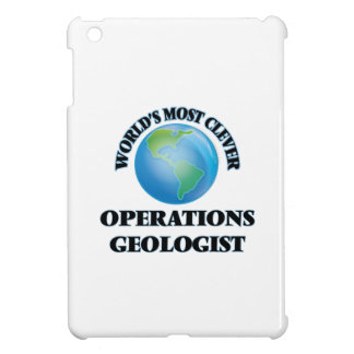 World's Most Clever Operations Geologist iPad Mini Covers