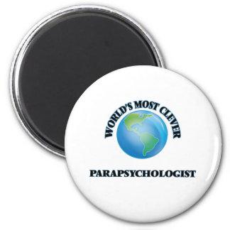 World's Most Clever Parapsychologist Fridge Magnet