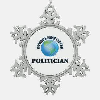World's Most Clever Politician Ornament