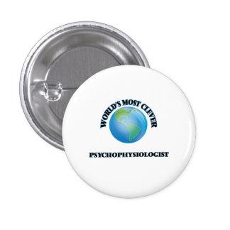 World's Most Clever Psychophysiologist Button