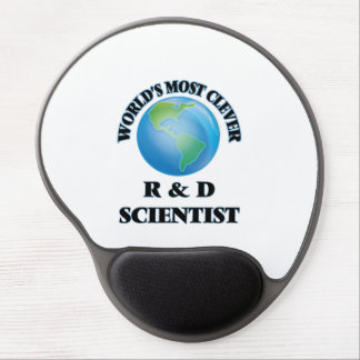 World's Most Clever R & D Scientist Gel Mouse Pad