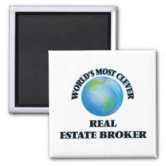 World's Most Clever Real Estate Broker Refrigerator Magnet
