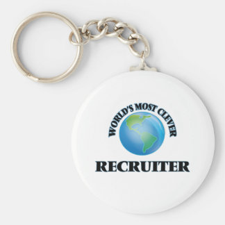 World's Most Clever Recruiter Key Chains