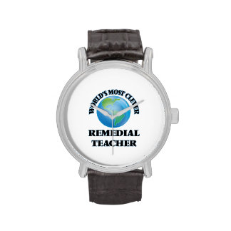 World's Most Clever Remedial Teacher Wrist Watches