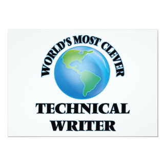 World's Most Clever Technical Writer Cards