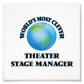 World's Most Clever Theater Stage Manager Photo